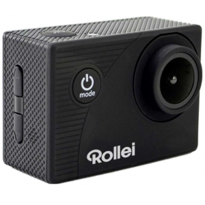 Rollei Actioncam 372 Black + Rollei 21605 Safety Pad