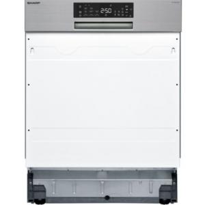 πλυντήριο πιάτων Sharp QW-NA24S42DI(60cm,εντοιχιζόμενο,D)