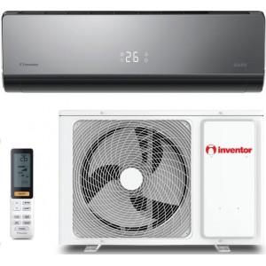 κλιματιστικό Inventor Dark DR2VI32-24WF/DR2VO32-24(r32,inverter,A+++,24.000btu/με wifi standard stick,ιονιστής)