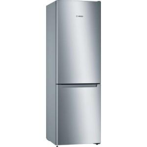 ψυγειοκαταψύκτης Bosch KGN36NLEB(302lt,No Frost Inox A++)