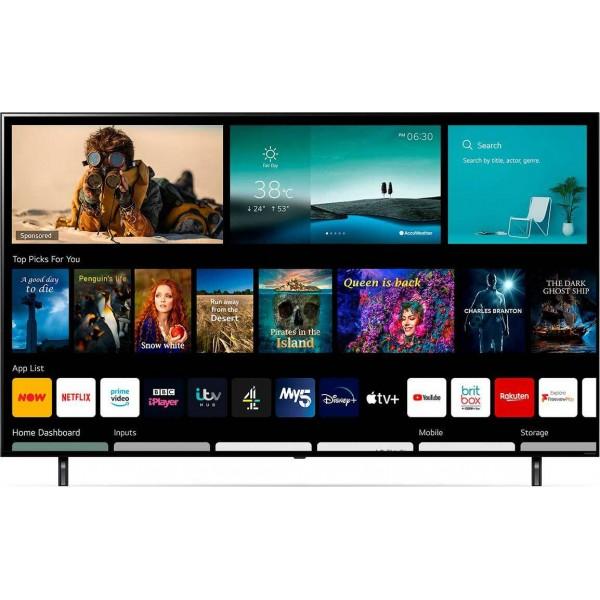 τηλεόραση LG 50NANO806PA 50'' Smart 4K (5 ΧΡΟΝΙΑ ΕΓΓΥΗΣΗ)