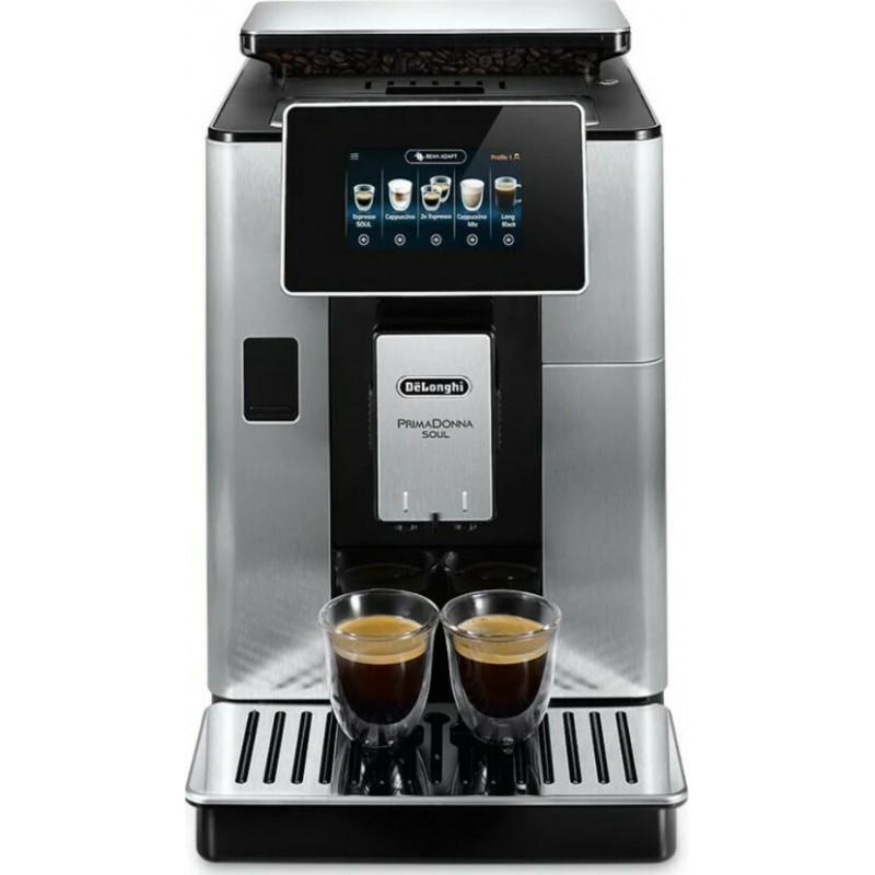 Delonghi ECAM610.75.MB Prima Donna Soul Αυτόματη Μηχανή Espresso