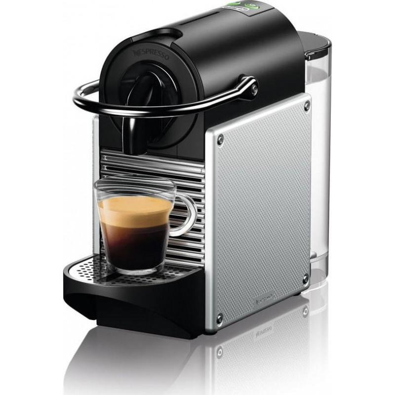 Delonghi Pixie EN124.S Μηχανή Nespresso(Δώρο 14 κάψουλες & κουπόνι αξίας 30€ για καφέδες)