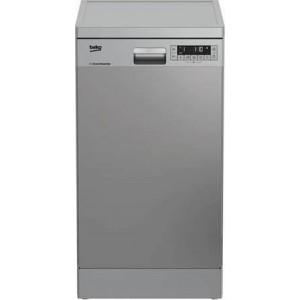 πλυντήριο πιάτων Beko DFS26024X (ελεύθερο,45cm,inox,E)