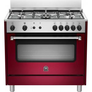 νέα κουζίνα La Germania AMN96 5 G VI V(ΑΕΡΙΟΥ-ΗΛΕΚΤΡΙΚΟ GRILL,142lt)