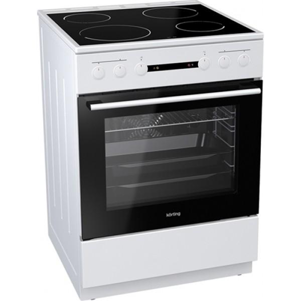 νέα κουζίνα Korting KEC 6151 WPG(κεραμική,71lt)