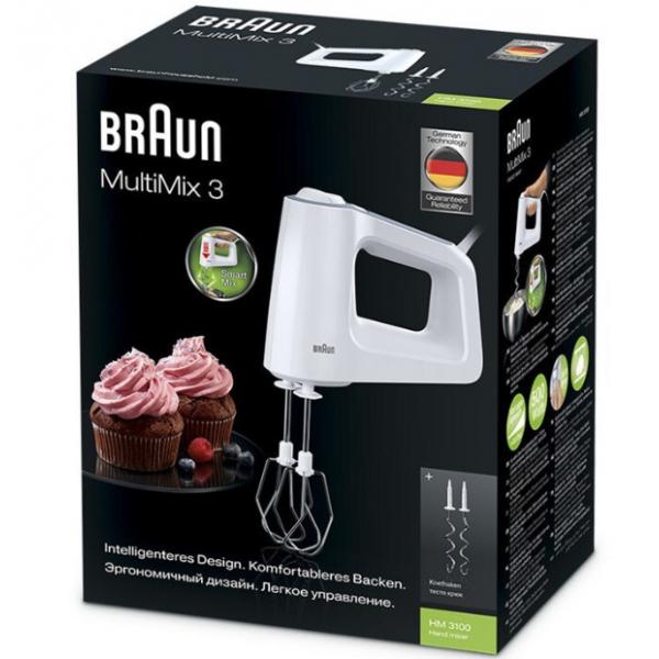 Braun HM 3100 WH μίξερ χειρός(500watt)