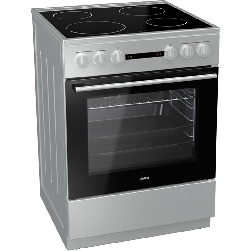 νέα κουζίνα Korting KEC 6142 IS(κεραμική,71lt)