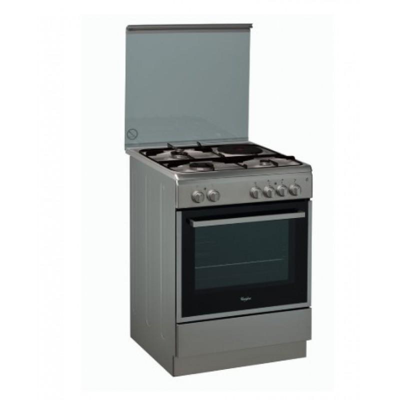 κουζίνα Whirlpool ACMK 6433/IX(Μικτή Αερίου,61lt)