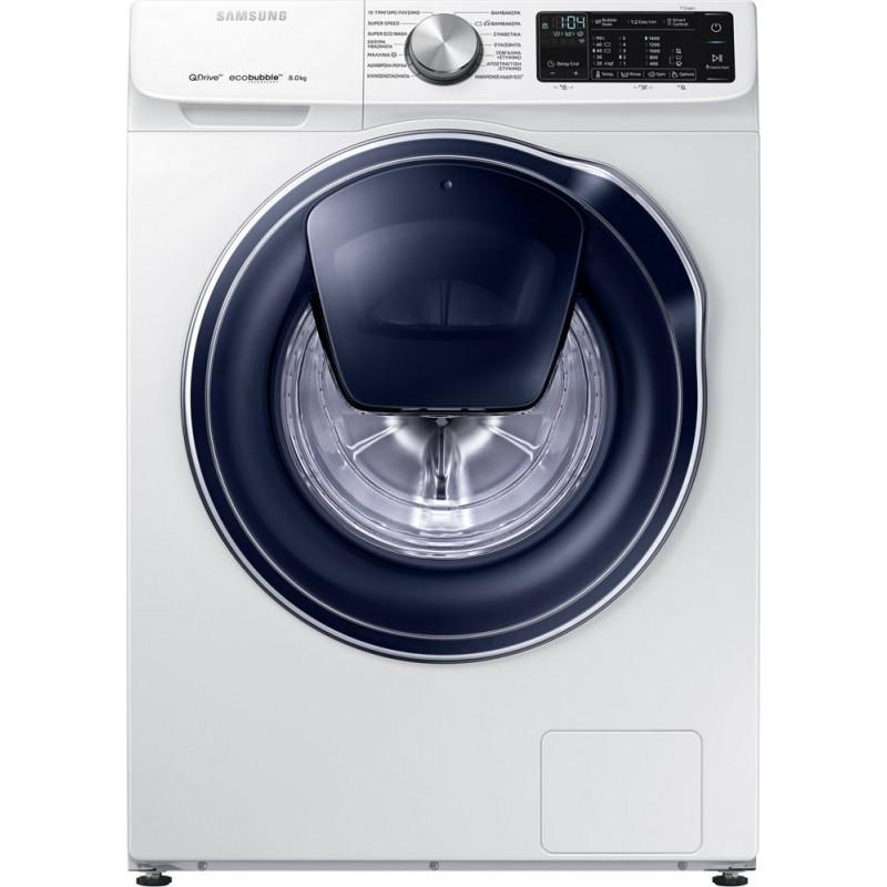 πλυντήριο ρούχων Samsung WW80M644OPW/LV(8kg,A+++,quick drive-addwash)