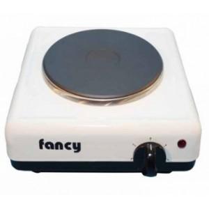 Επιτραπέζια ηλεκτρική εστία 1 ζώνης (1500w) Fancy 0112 λευκή