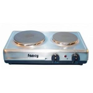 Επιτραπέζια ηλεκτρική εστία 2 ζωνών (1500w/1000w) Fancy 0200 inox
